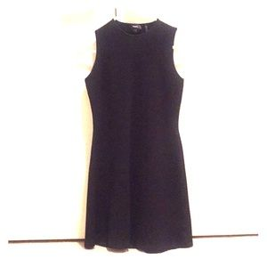 Theory textured black dress, style: Branteen